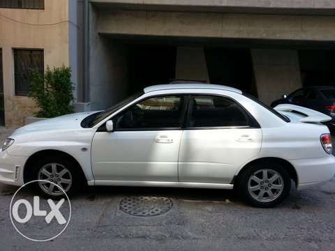 very good white subaru المرفأ -  3