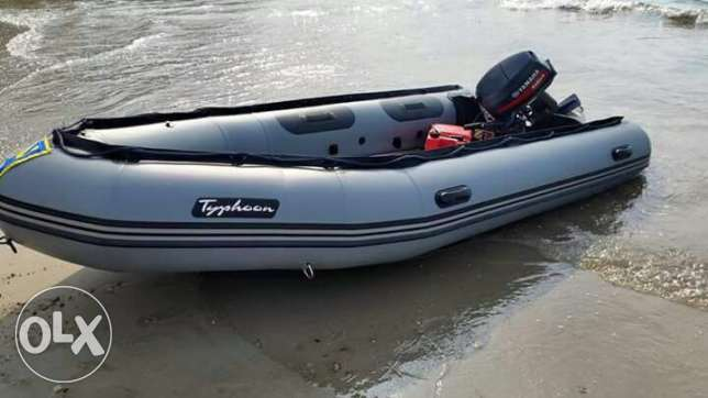 zodiac 4,5 m excellent condition with yamaha 25 hp enduro