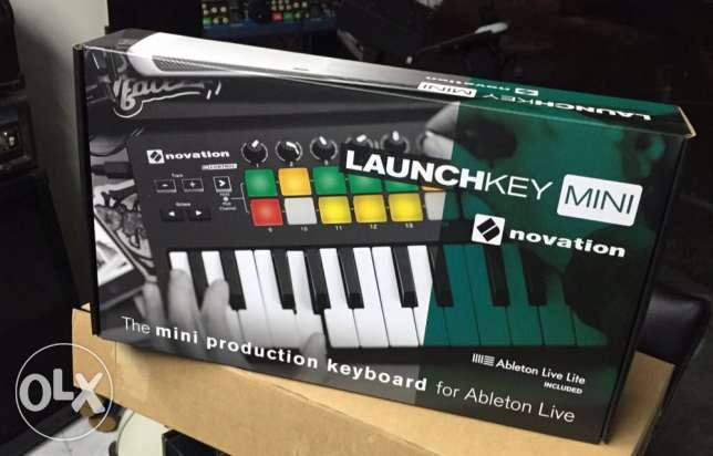 Novation launchkey mini 25 keyboard for abelton live Mk-2 version 189$