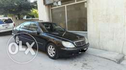 Mercedes S320 for sale or trade