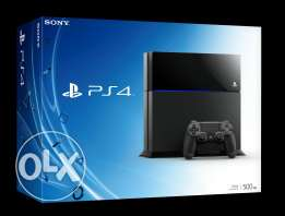 Brand new 500 GB ps4
