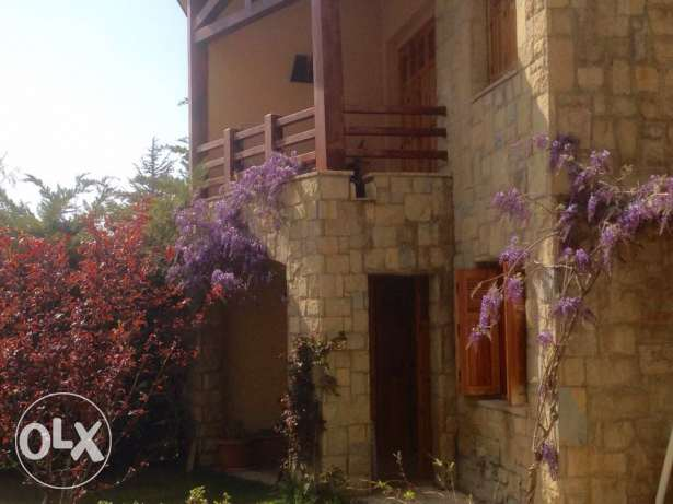 beautiful chalet for rent in Faraya