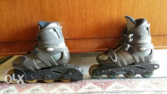 Children Rollerblades Size 24.5 and 24.0 (2 Pairs)