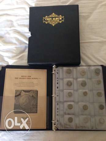 Currencies Collection Album - 179 Different Coins - Antique