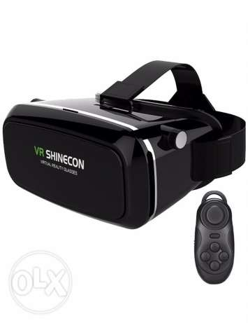 VR (Gear) Virtual Reality for All Smartphone with Remote Control.