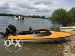 Speedboat Picton Ps 200 Mercury outboard motor and trailer included