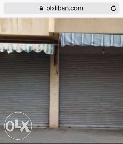 Leasehold shop in very good location