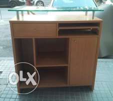 Cash desk ideal for shoe shop
