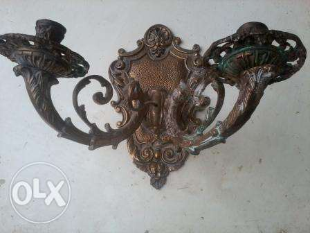 Big Chandeliers Bronze, 2, 80-100 years old, French hand made, 50$