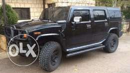 hummer h2 2003 black supper clean 4 new tire