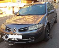 Renault Megane 2010 grey color
