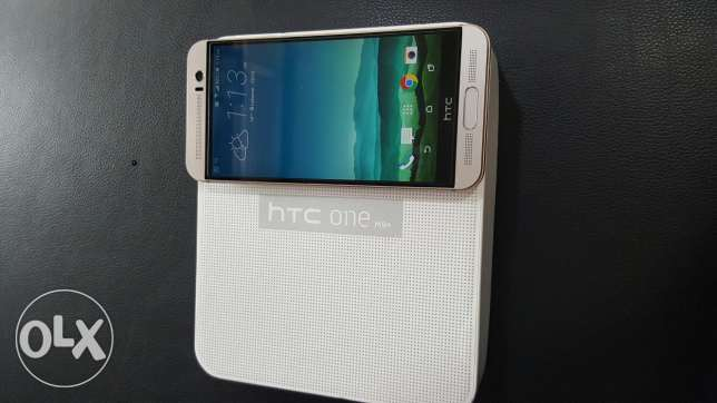 Htc m9+ gold on silver