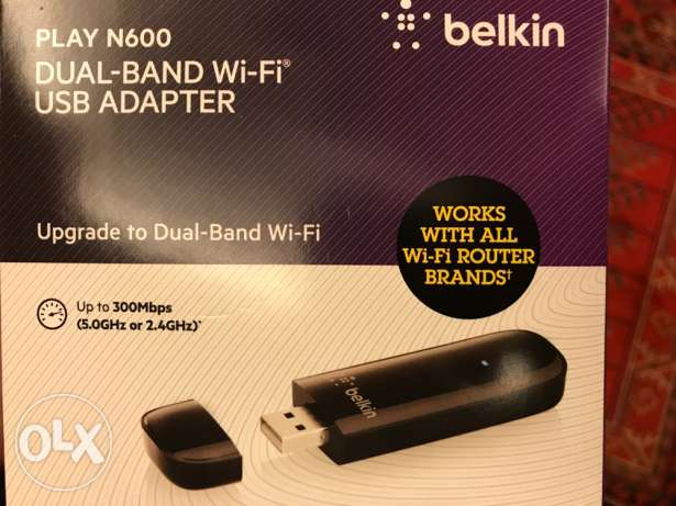 belkin wireless key new dual band