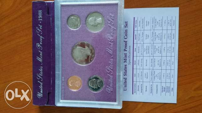 United States Mint Proof coin Set