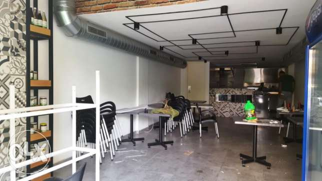 Shop for Rent at Jal El Dib, Surface: 100m2 Ag-407-16