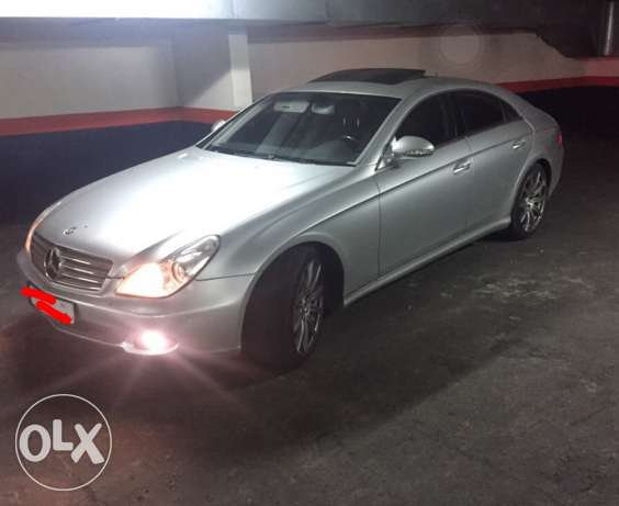 CLS 500 - Red leather interior/ Special Edition (BodyKit AMG)