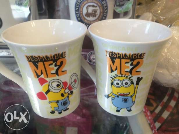 2 Brand New Despicable Me 2 Mugs
