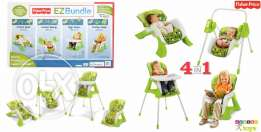 brand new Fisher-Price EZ Bundle™ 4-in-1 Baby System