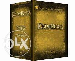 Lord of the Rings Trilogy Extended edition box set