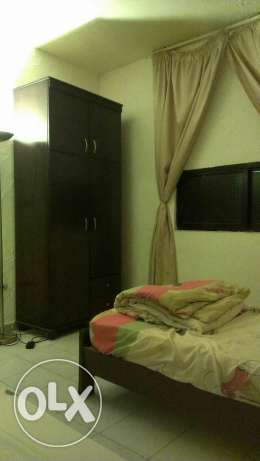 Ainlmrysi , One bedroom, one Salon , kitchin , bathroom , Balkon,Wifi ميناء الحصن -  6