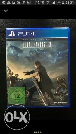 Ps4 final fantasy 15 XV Day one Edition playstation 4