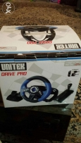 Racing wheel for sale for PS2 -PS3 and PS
