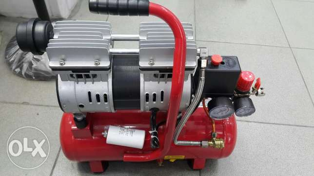 Oil free air compressor 9litre