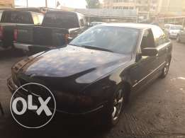 Atwi auto Zefta BMW 528 model 96 black black
