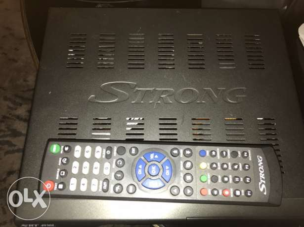 receiver strong with remote control