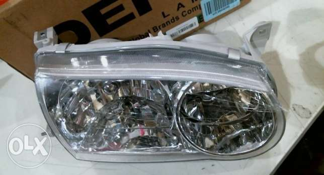 Depo Toyota Corolla Passenger Side Head Light المرفأ -  1
