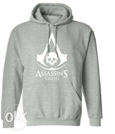 Assassin's creed long sleeves hoodies