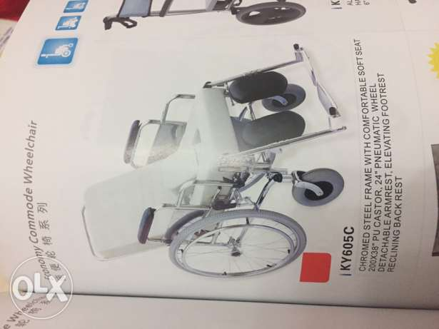 Commode Wheelchairs for sale