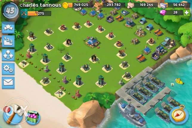 Clash of clans la be3 tawn hall 9 max defender