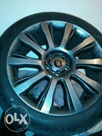 Original range rover vogue se rims 2014 طبرجا -  4