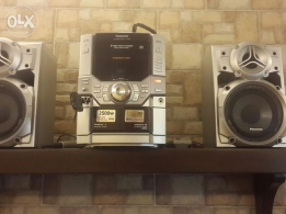 stereo 2500w panasonic for sale