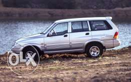 Ssangyong Musso 1997 رانج