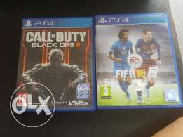 fifa 16 and black ops 3