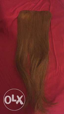 Two Natural long hair Extensions عرمون -  2