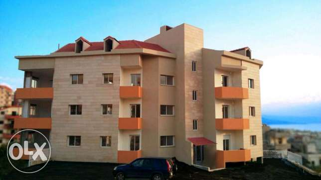 Studio chalet appartment for rent in aamchit-jbeil