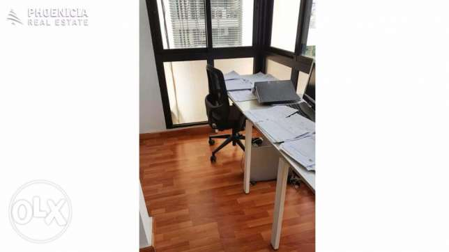 Horsh Tabet-60 sqm furnished office-$11.000/year|PLS23313