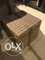 For sale cube Bamboo table quantity 2