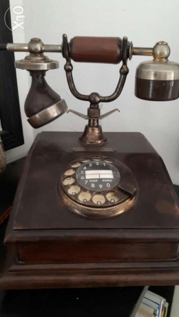 Old telephone.. last piece زلقا -  1