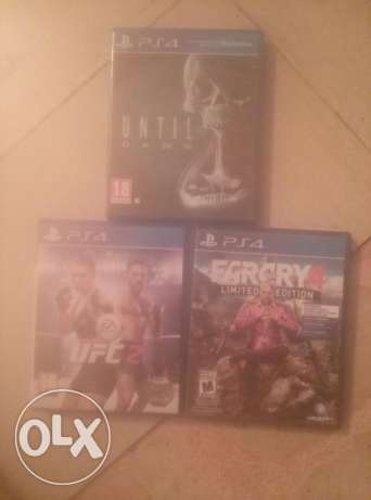 Ps4 3 games