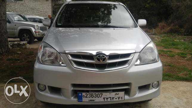 Toyota avanza in excellent condition-بحال ممتاز