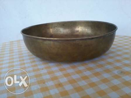 Old Bowls, copper hand made, 60-100 years, 25cm, each 13$