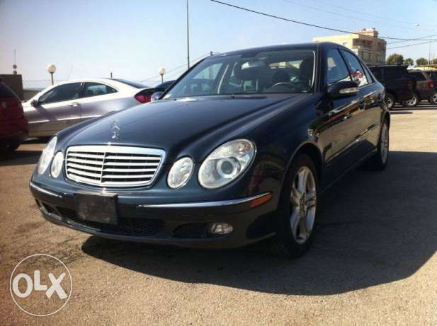 Mercedes E350 mod 2006, Clean Carfax, Like New كسروان -  2