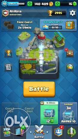 Clash royale account very strong