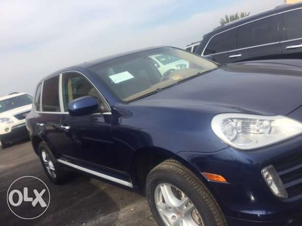 cayenne 2008 dark blue
