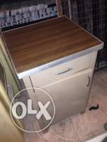original old office metal cabinet