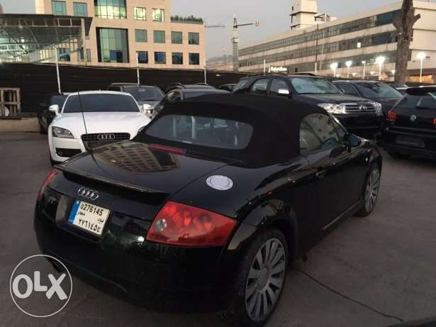 Audi TT 2001 Black Convertible in Good Condition! بوشرية -  2